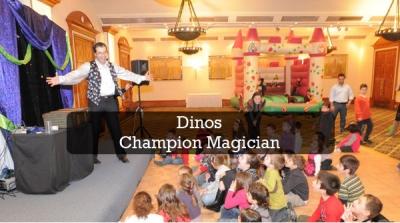 dinos champion magician