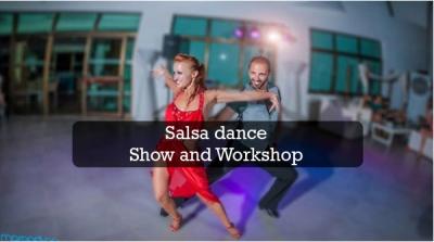 Salsa dance show